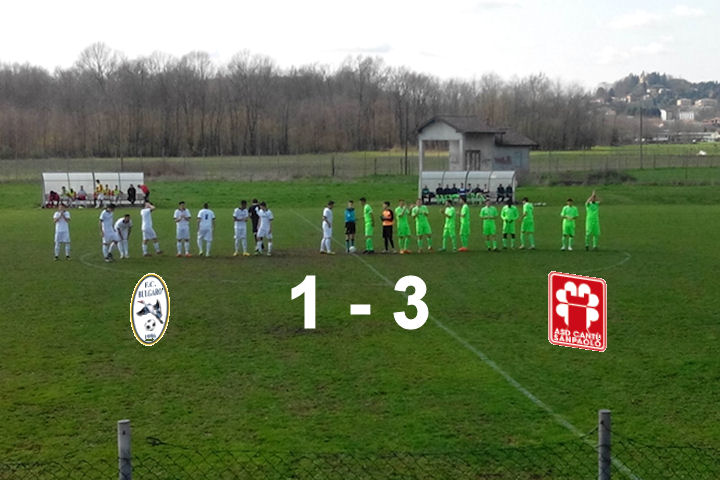 Prima Squadra: Bulgaro vs Cantù Sanpaolo 1 – 3