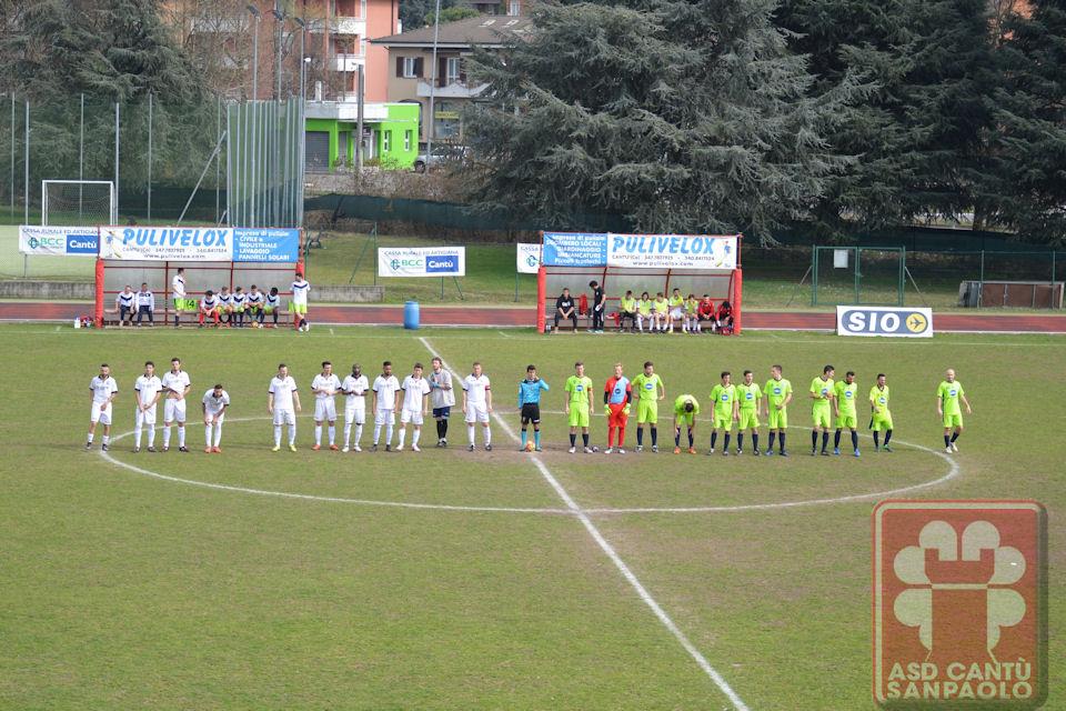 Prima Squadra: Cantù Sanpaolo vs Bregnanese 3 – 0