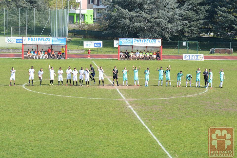 Prima Squadra: Cantù Sanpaolo vs Ceriano Laghetto 1 – 1