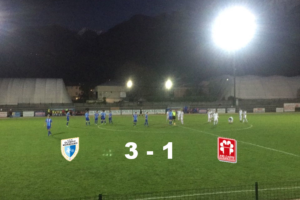 Coppa Lombardia: Olympic Morbegno vs Cantù Sanpaolo 3 – 1