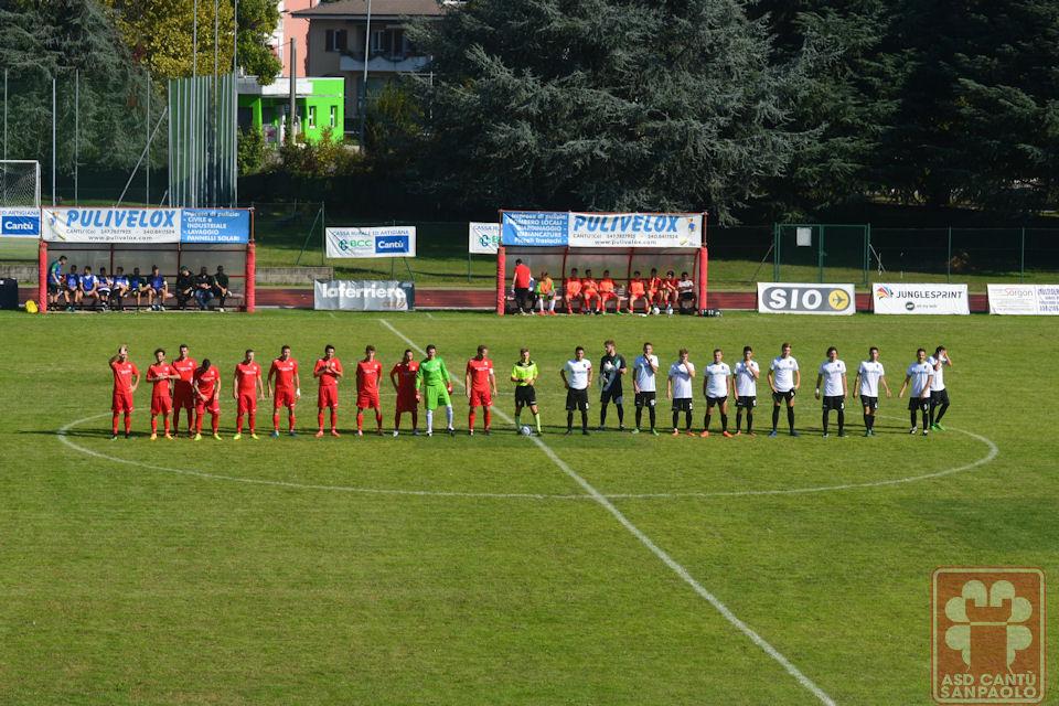 Prima Squadra: Cantù Sanpaolo vs Real San Fermo 1910 2 – 1