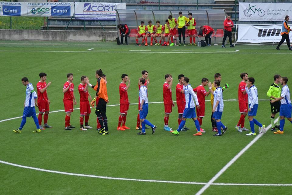 Juniores Reg. B: Mariano vs Cantù Sanpaolo 2 – 2