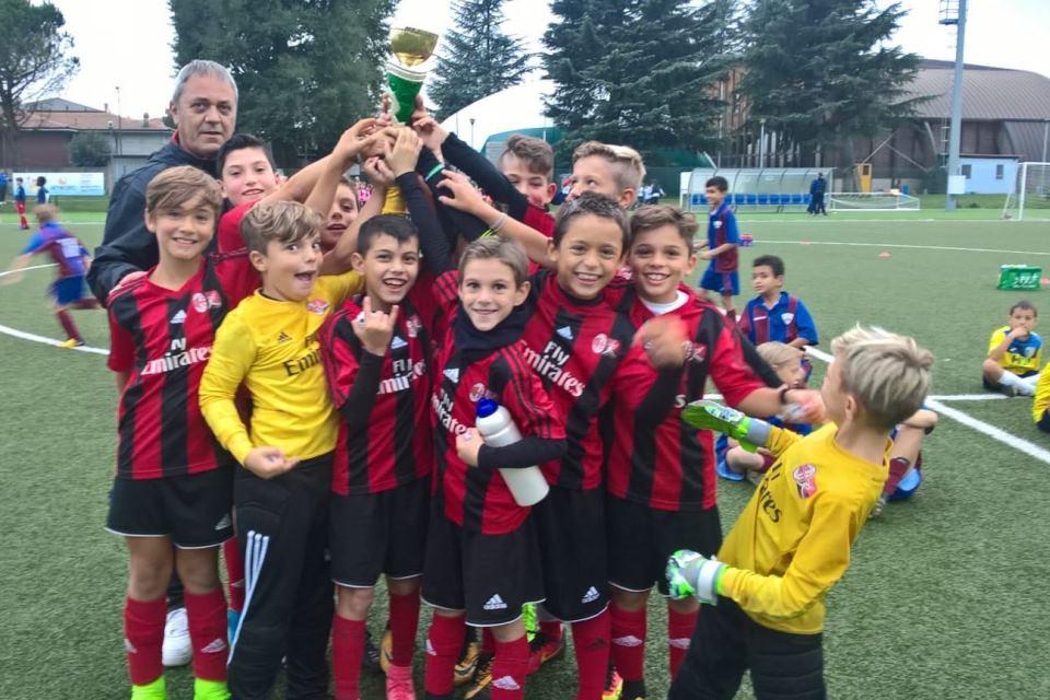 Pulcini 2008 rossi: Torneo di Cislago