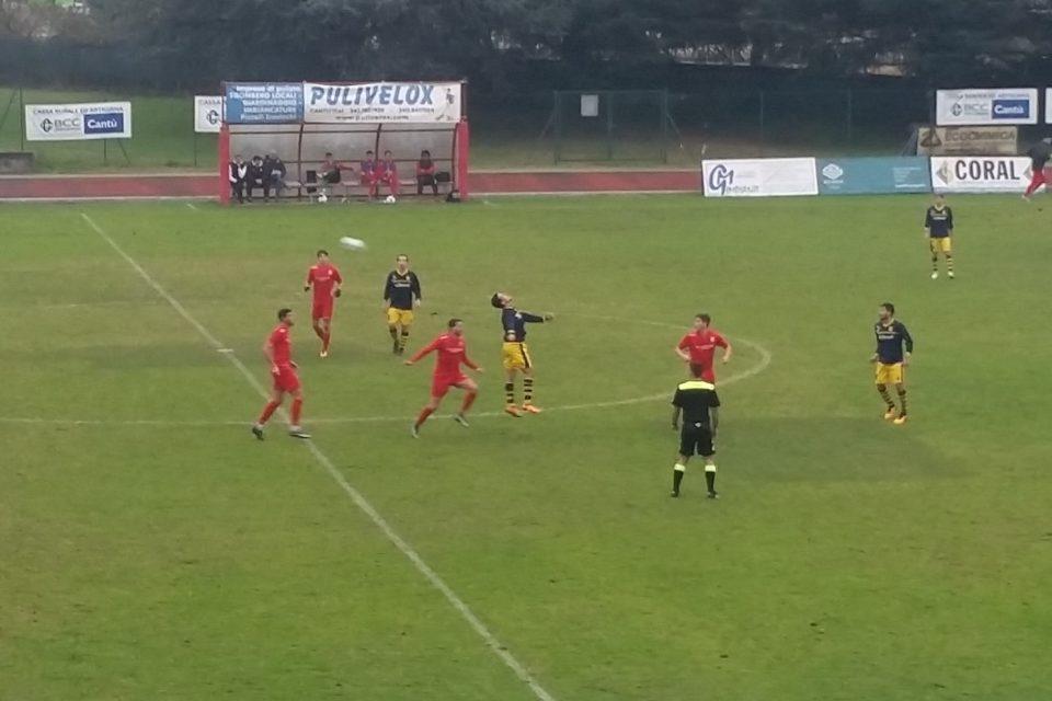 Prima Squadra: Cantù Sanpaolo vs Castello Vighizzolo 1 – 1