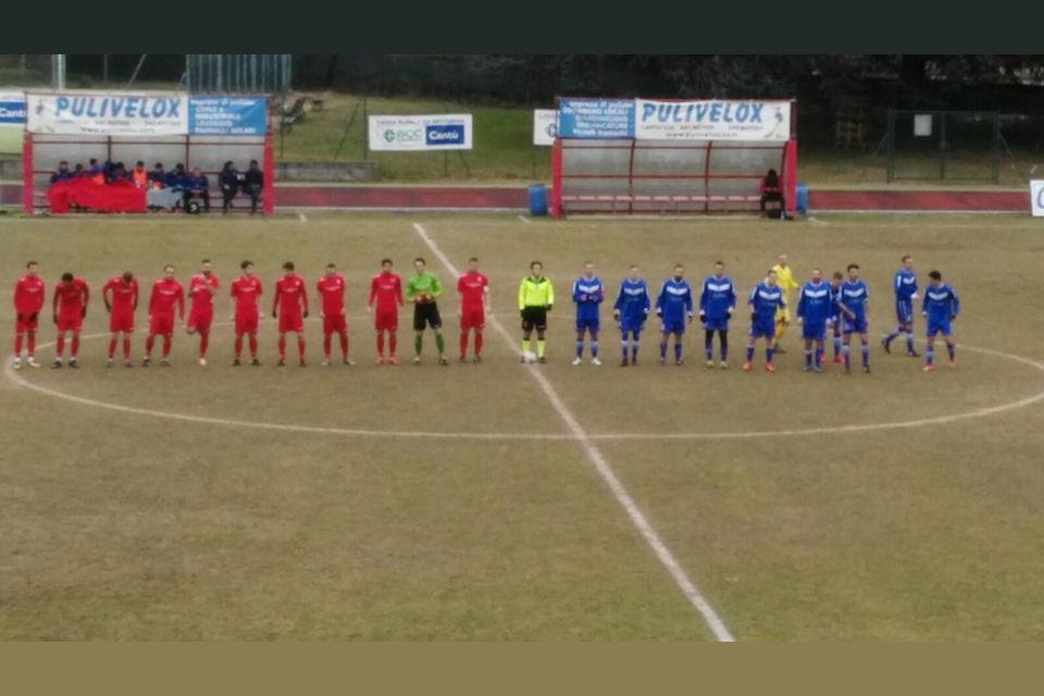 Prima Squadra: Cantù Sanpaolo vs Ceriano Laghetto 2 – 0