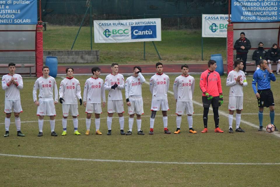 Juniores Reg. B: Cantù Sanpaolo vs Cabiate 2 – 4
