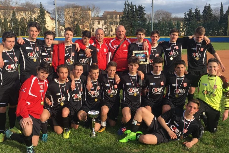 "Allievi 2001 a Coverciano al Torneo ""Florence Cup"""
