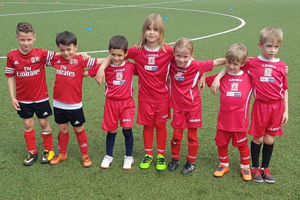 Piccoli Amici 2012, il loro primo torneo