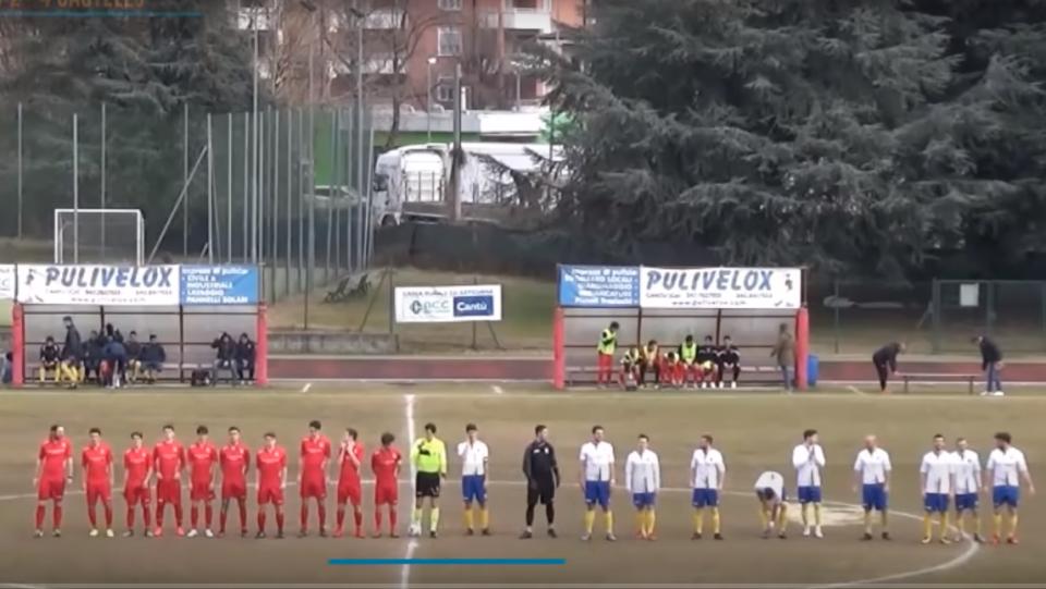 Prima Squadra: Cantù Sanpaolo vs Castello Città di Cantù 2 – 4