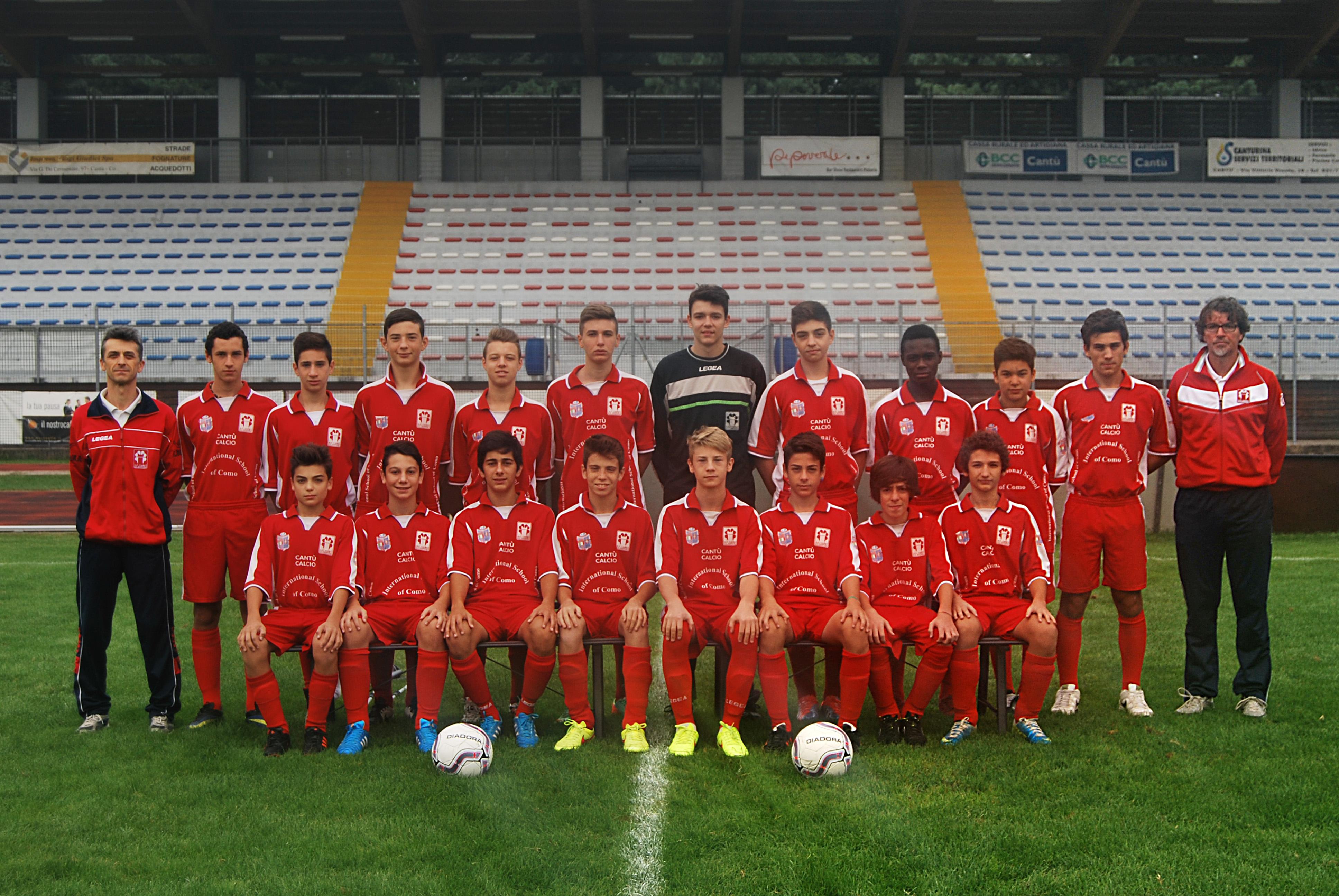 """Giovanissimi Regionali """"A"""": Cantù Sanpaolo 2 – La Dominante 1"""