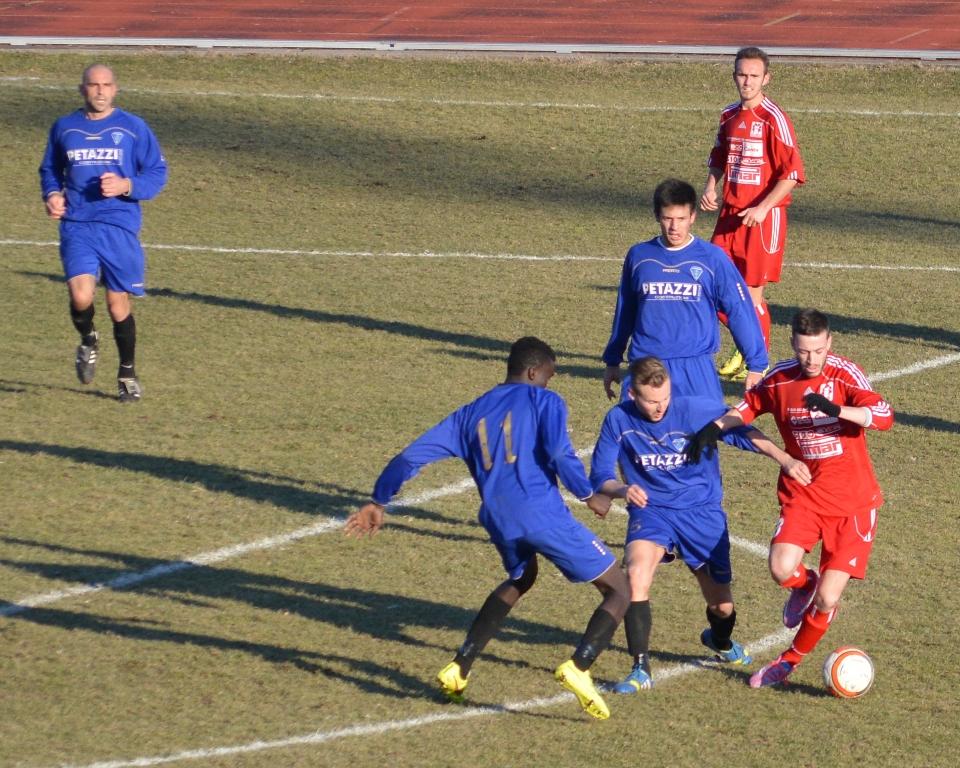 Prima Squadra: Cantù G.S. Sanpaolo  vs  Menaggio 1 – 2