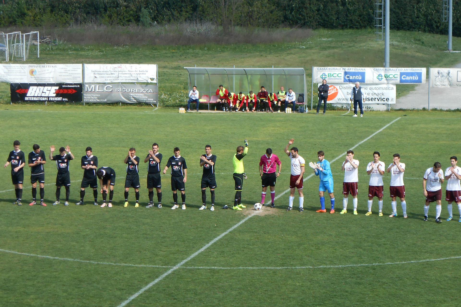 Prima Squadra: Cabiate 0 – Cantù 0