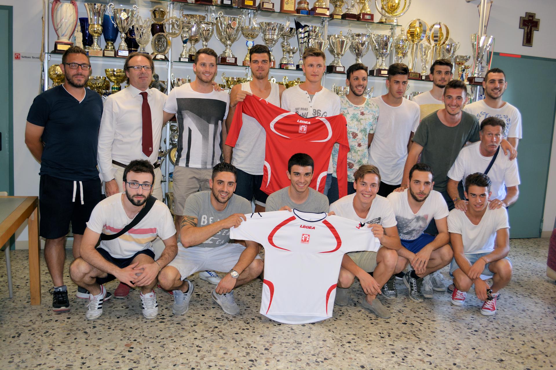Presentata la Prima Squadra per la stagione 2015/2016