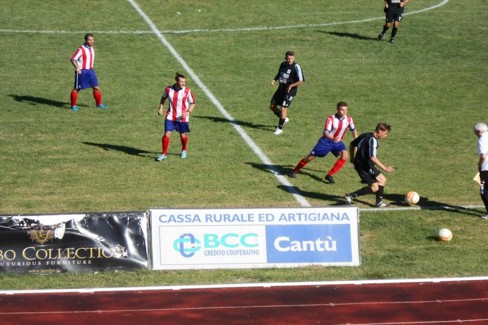 Prima Squadra. Cantù Sanpaolo vs. Guanzatese 1 – 1