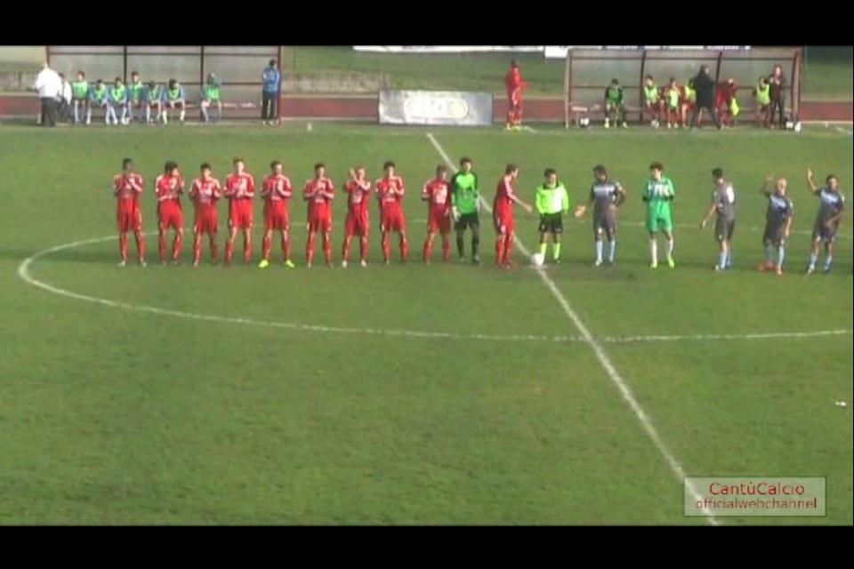 Prima Squadra: Cantù Sanpaolo – Real Anzano 2 a 1