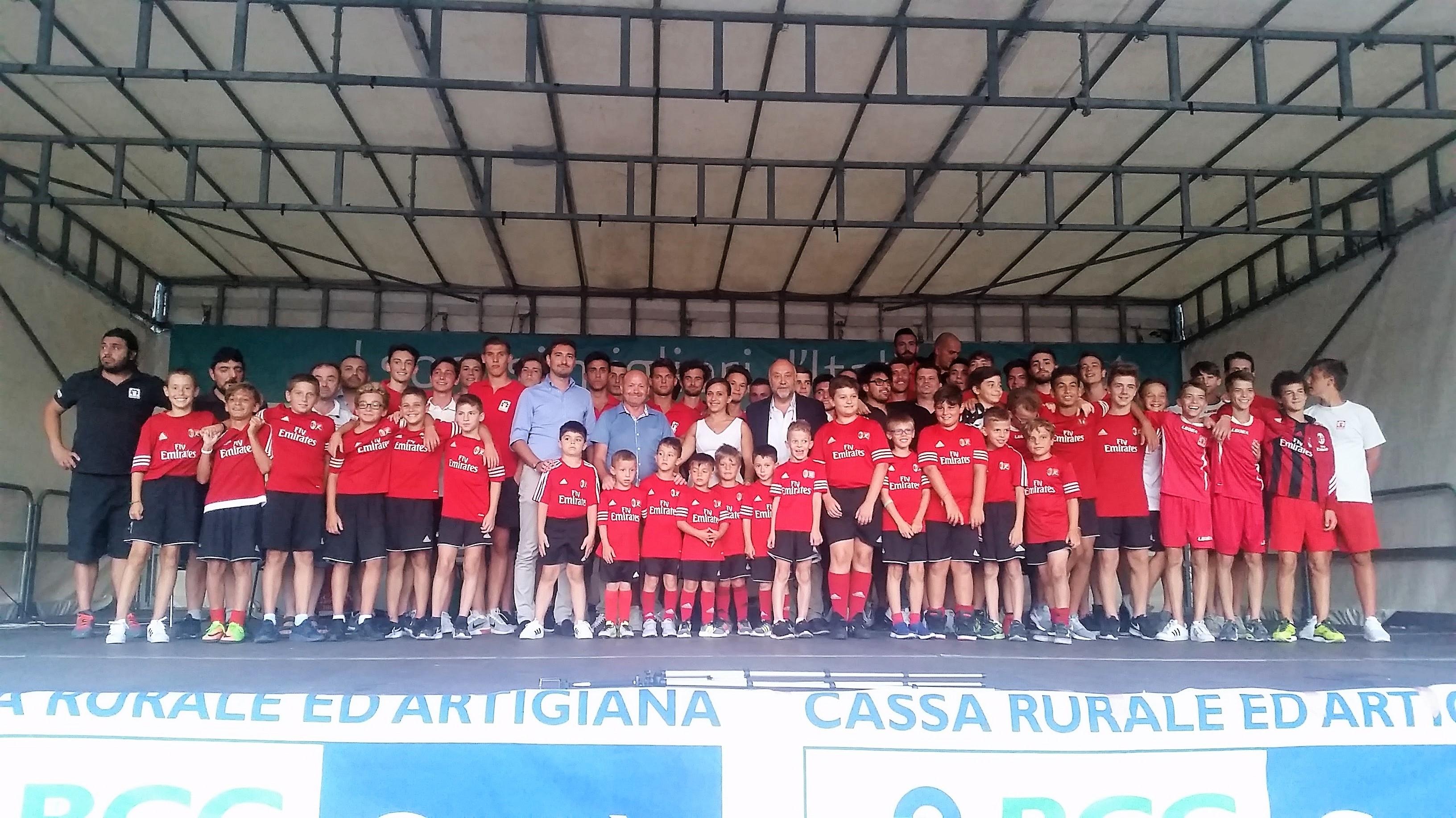 Presentazione delle squadre dell'ASD Cantù Sanpaolo stagione 2017/2018
