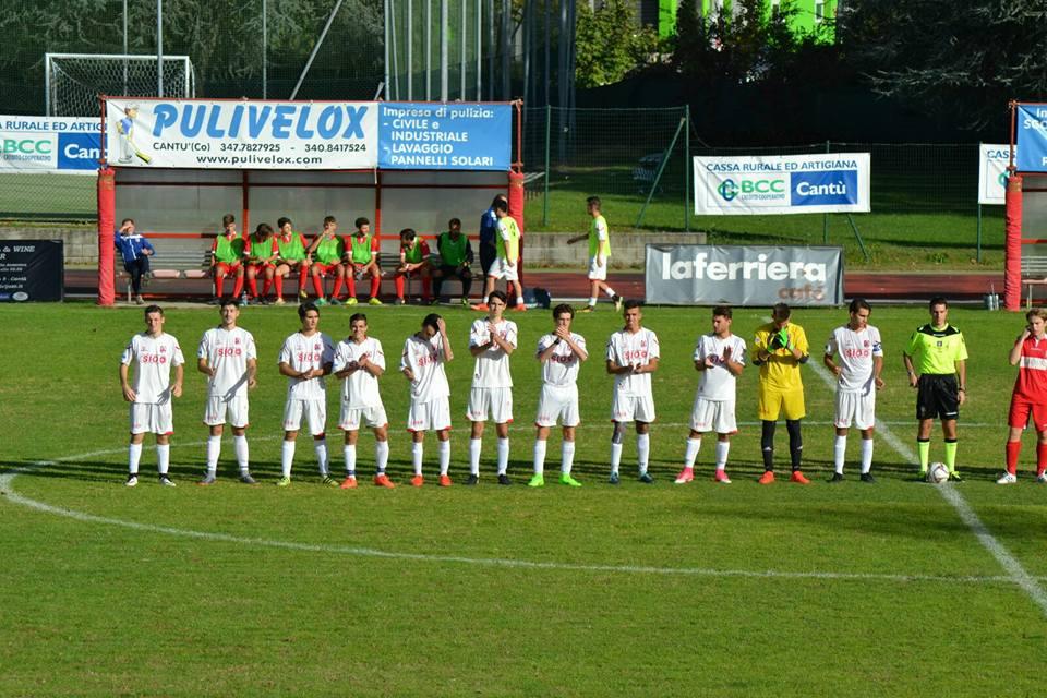 Juniores Reg. B: Cantù Sanpaolo vs Arcellasco 4 – 2