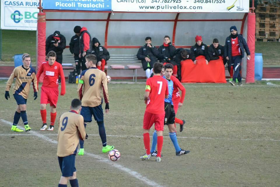 Juniores Reg. B: Cantù Sanpaolo vs Lentatese 1 – 1