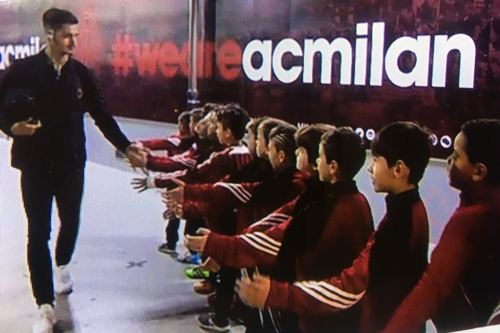 I nostri Primi calci 2009 / 2010 a San Siro per Milan vs Atalanta