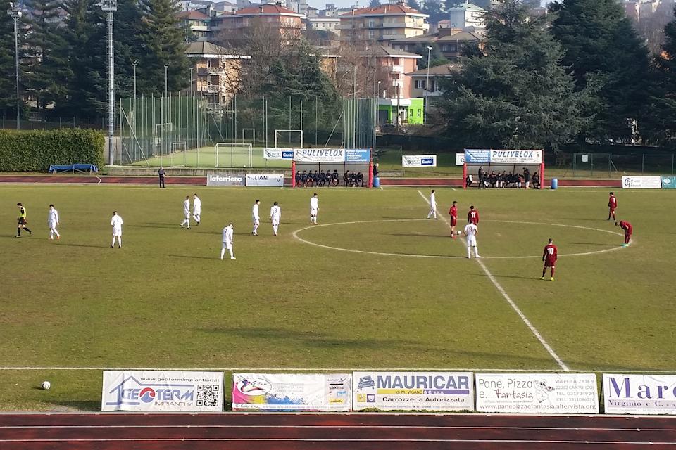 Prima Squadra: Cantù Sanpaolo vs Cabiate 2 – 0