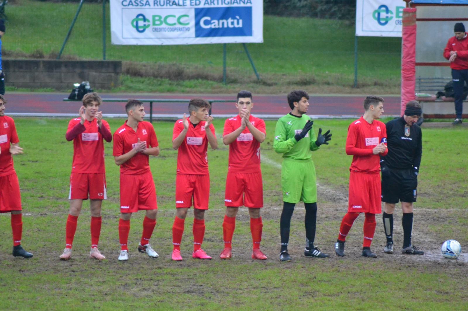 Juniores regionale BASD CANTU'SANPAOLO 2 Mariano 0
