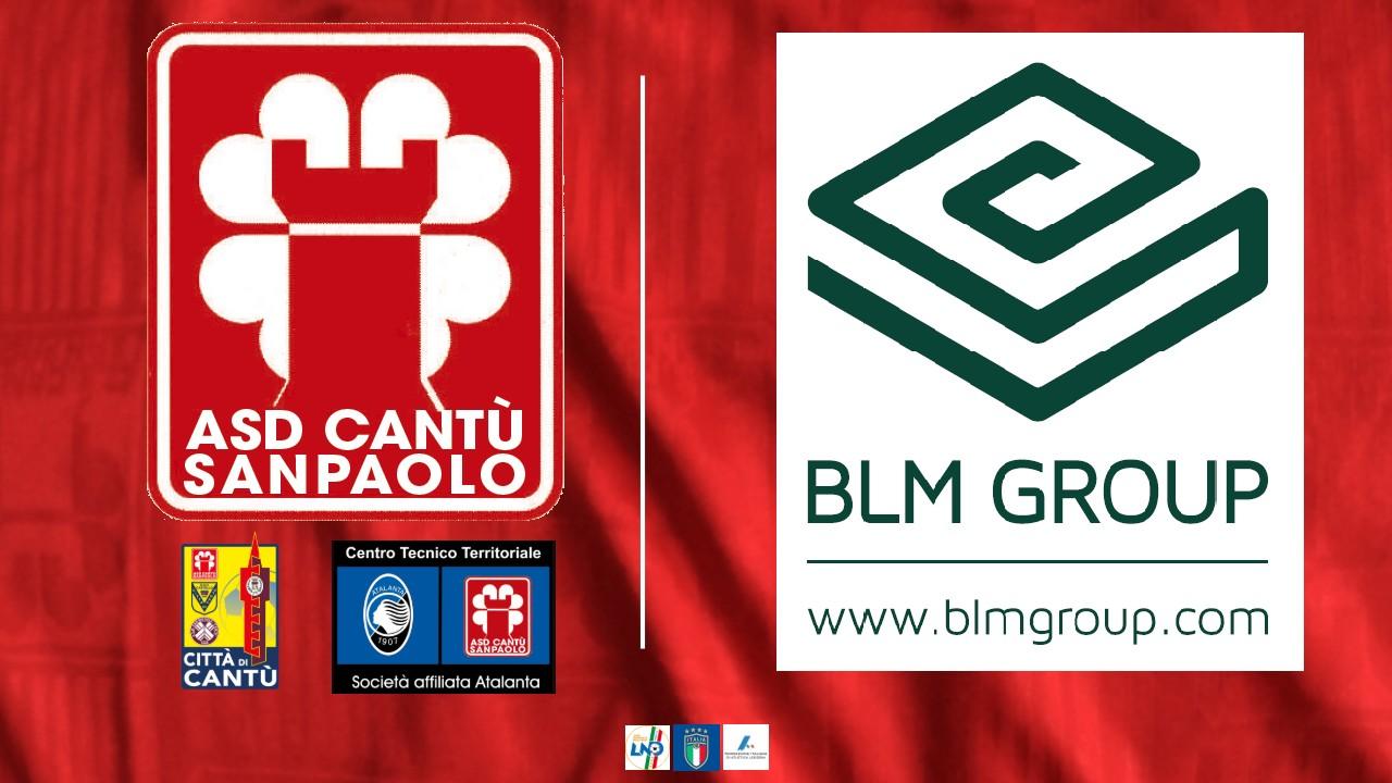 BLM GROUP a fianco di ASD Cantù Sanpaolo