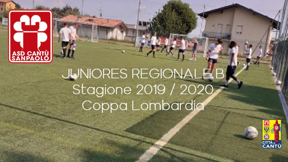 Juniores Reg. B: Stagione 2019/202 e Coppa Lombardia