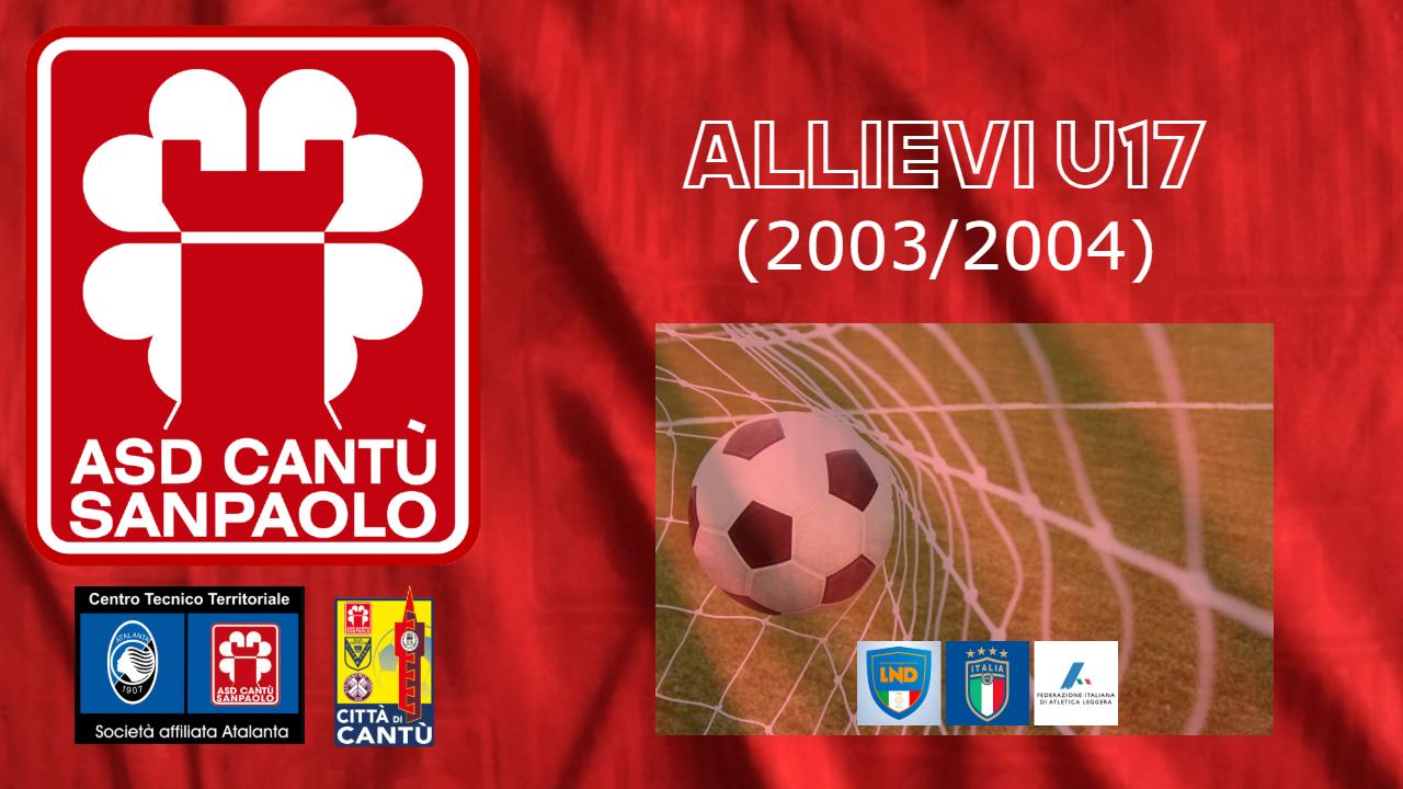 ALLIEVI U17 (2003/2004)