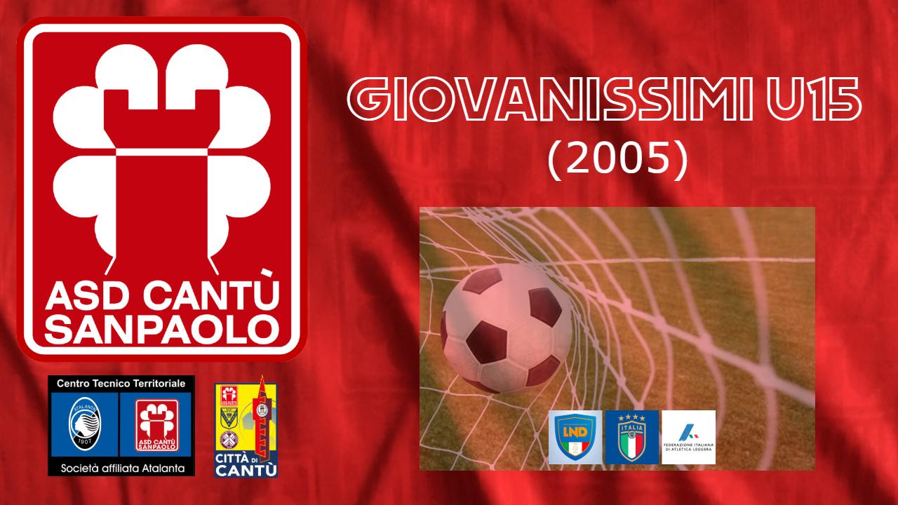 GIOVANISSIMI U15 (2005)