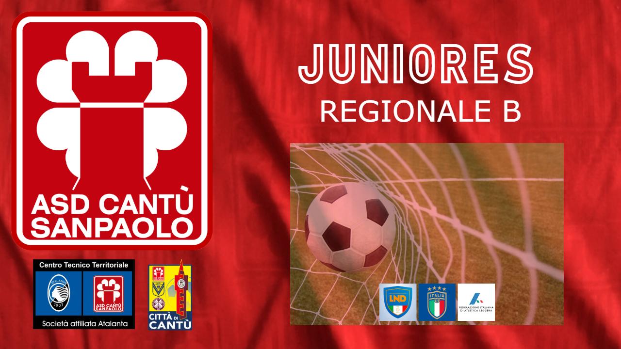 JUNIORES Regionale B