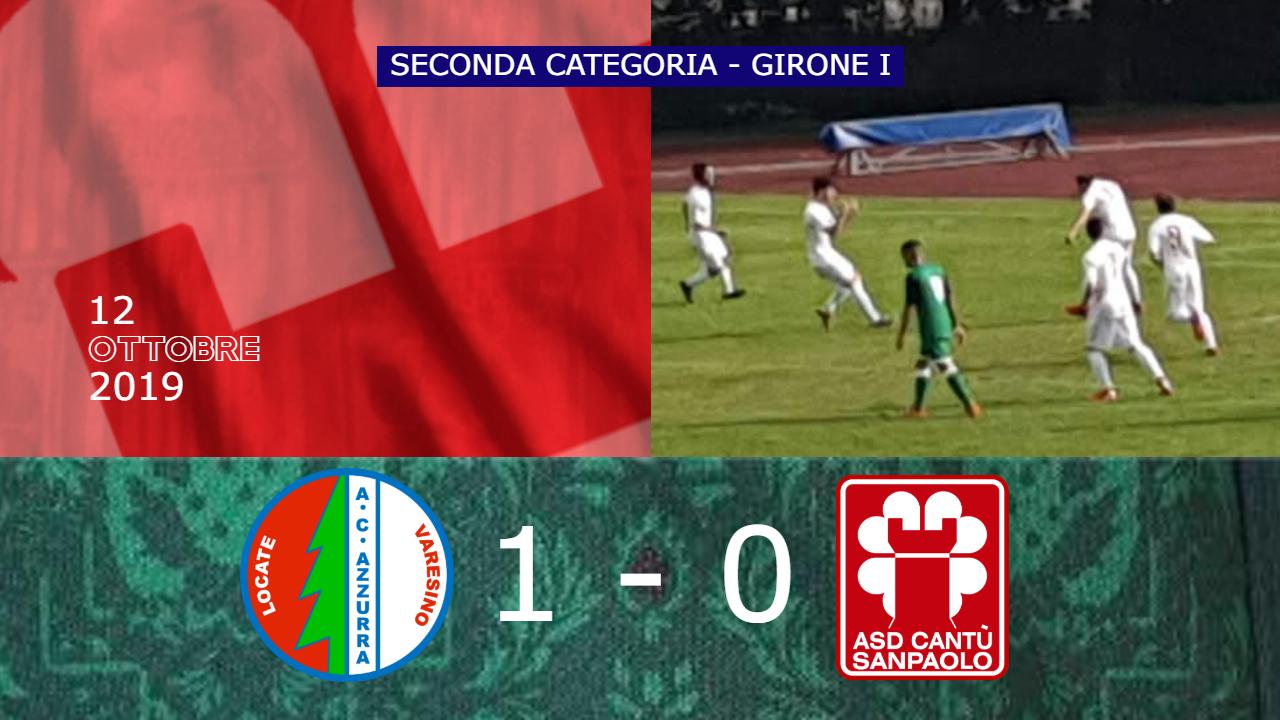 Prima Squadra: Azzurra vs Cantù Sanpaolo 1 – 0
