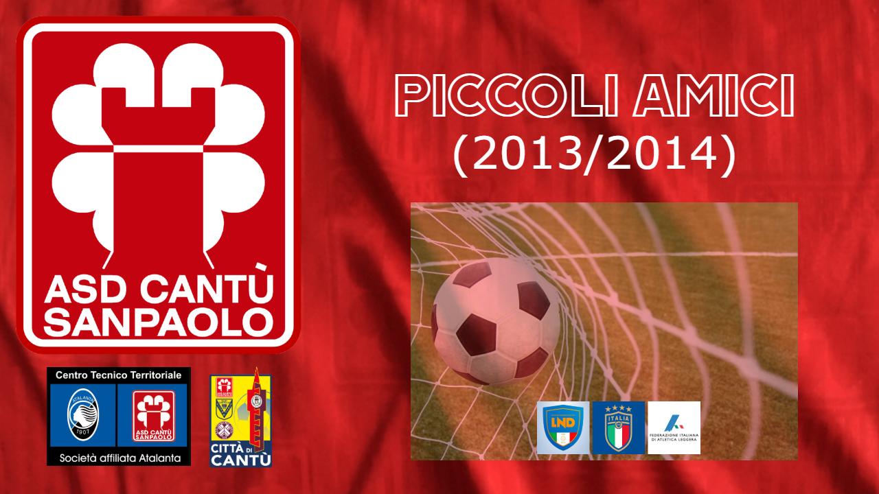 PICCOLI AMICI 2013/2014
