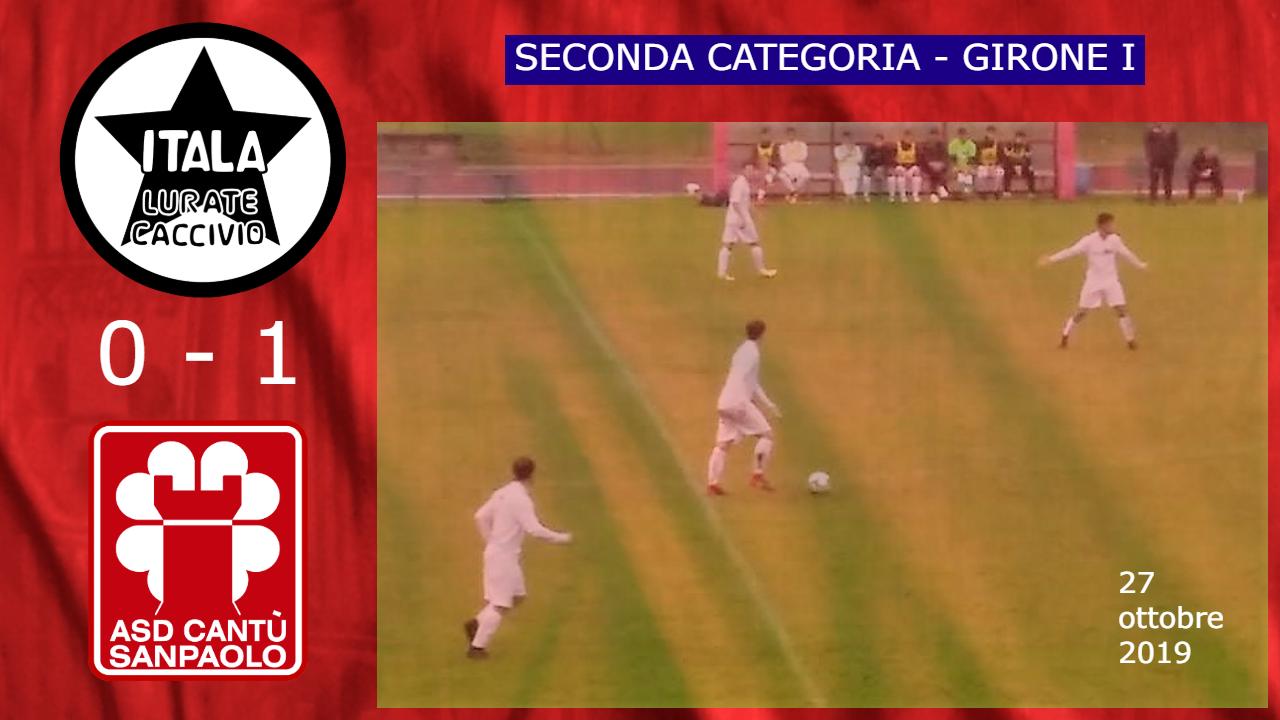 Prima Squadra: Itala vs Cantù Sanpaolo 0 – 1