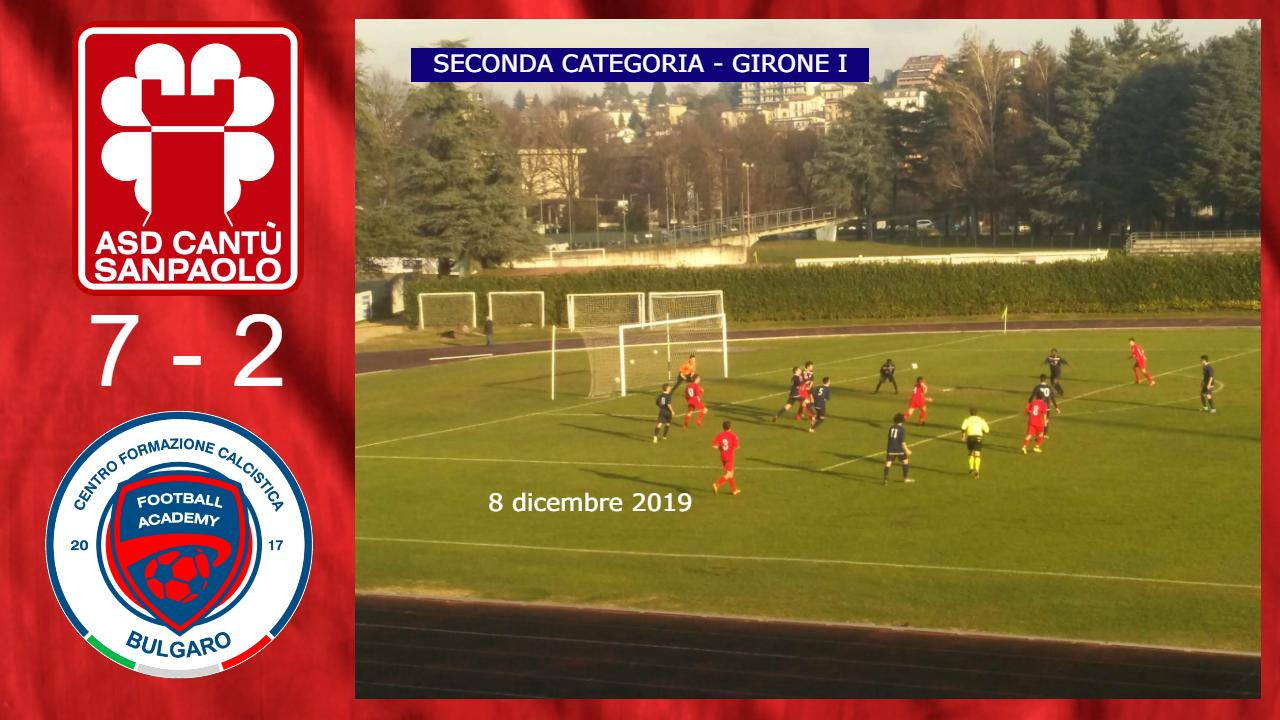 Prima Squadra: Cantù Sanpaolo vs Bulgaro 7 – 2