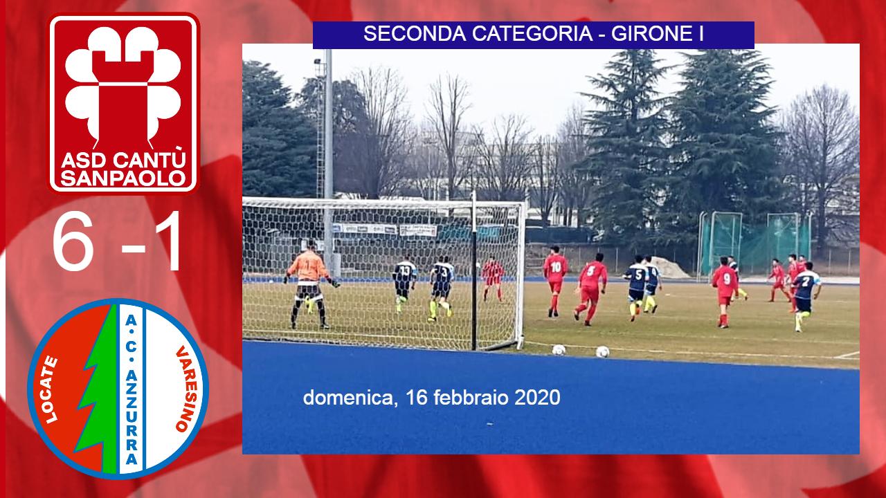 Prima Squadra: Cantù Sanpaolo vs Azzurra 6 – 1