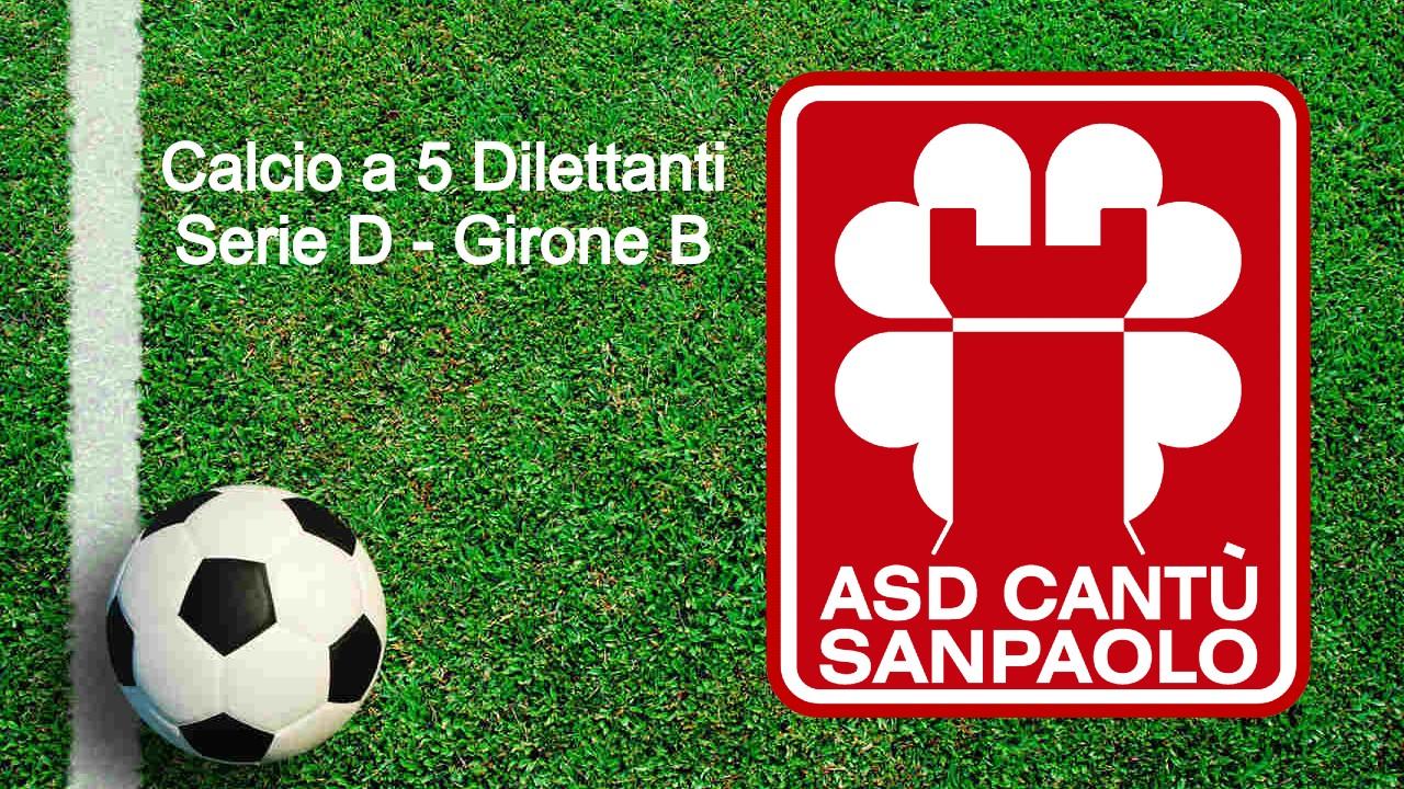 Il Cantù Sanpaolo parteciperà al Campionato di Calcio a 5