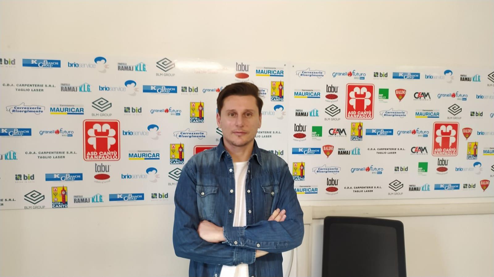 Presentazione del nuovo responsabile del settore agonistico ASD Cantù Sanpaolo