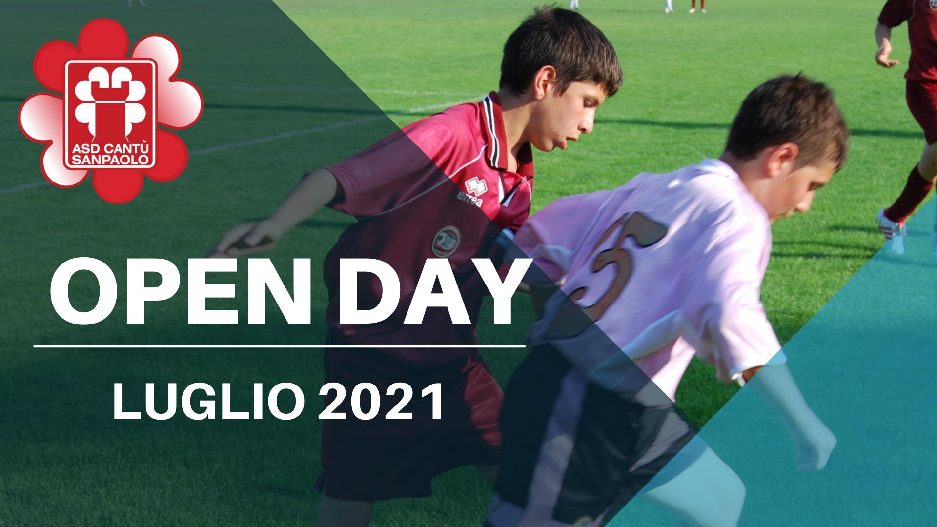 Open Day luglio 2021