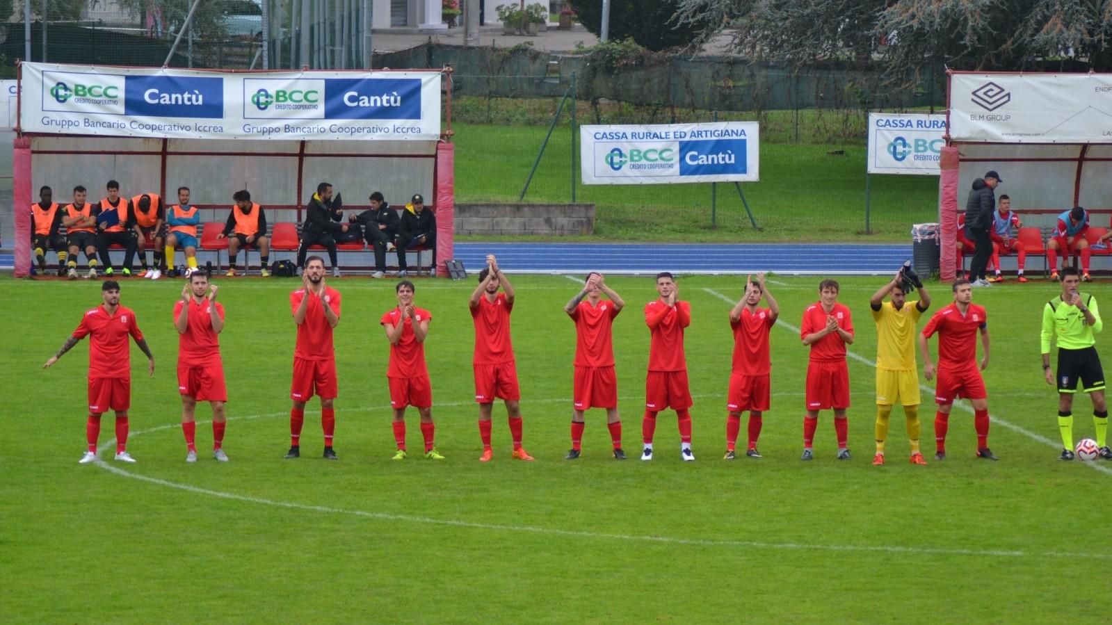 Prima Squadra: Cantù Sanpaolo vs Albate HF 2 – 2